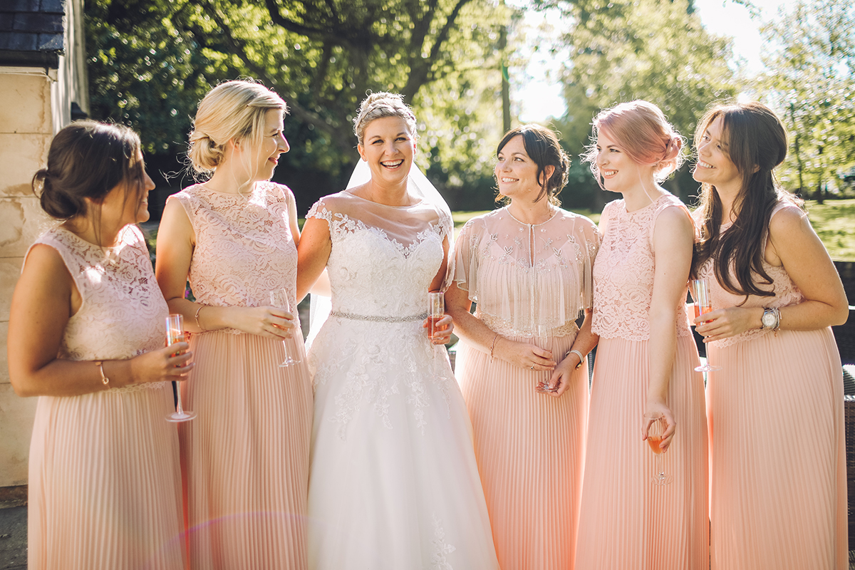 Combermere Abbey wedding | Combermere Abbey wedding photography | Combermere Abbey bridesmaids