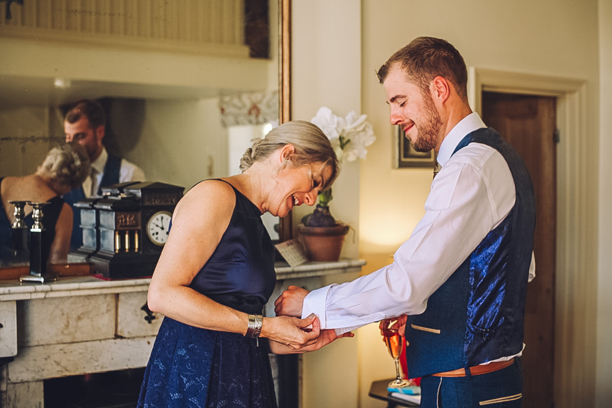 Combermere Abbey wedding | Combermere Abbey wedding photography | Combermere Abbey groom prep
