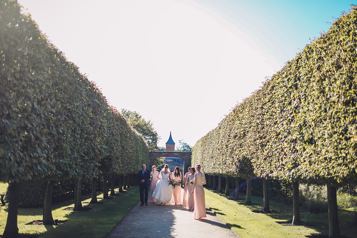 Combermere Abbey wedding | Combermere Abbey wedding photography | Combermere Abbey brides arrival