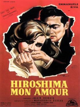 Hiroshima mon amour - Affiche