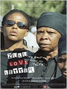 Lettre d'amour zoulou (zulu love letter) - Affiche
