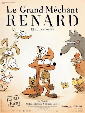Le grand mechant renard - Affiche