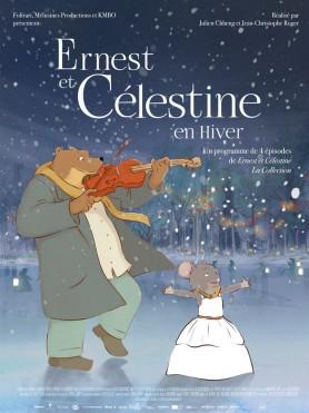 Ernest et célestine en hiver - Affiche