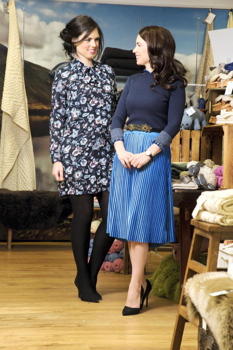 Meet the stylish sister act at Standún, Spiddal 09 October