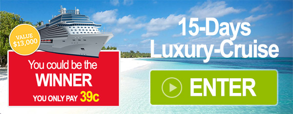 You could be our winner - 15-days luxury-cruise