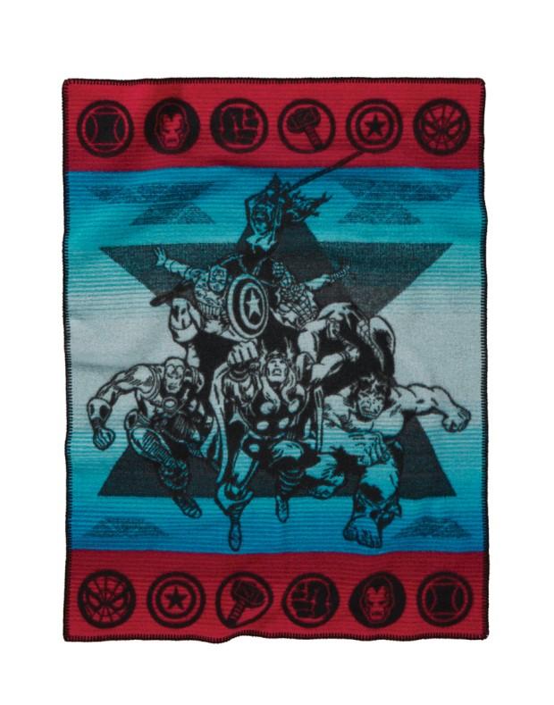 """""""muchacho_avengers_pendleton_blanket.jpg"""""""