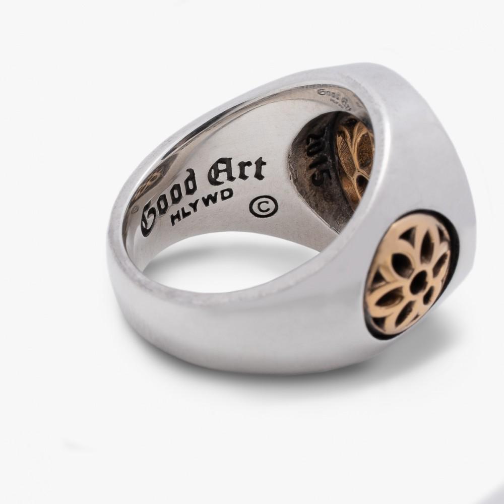 """GOOD ART HLYWD Club Ring Two Tone--5.jpg"""