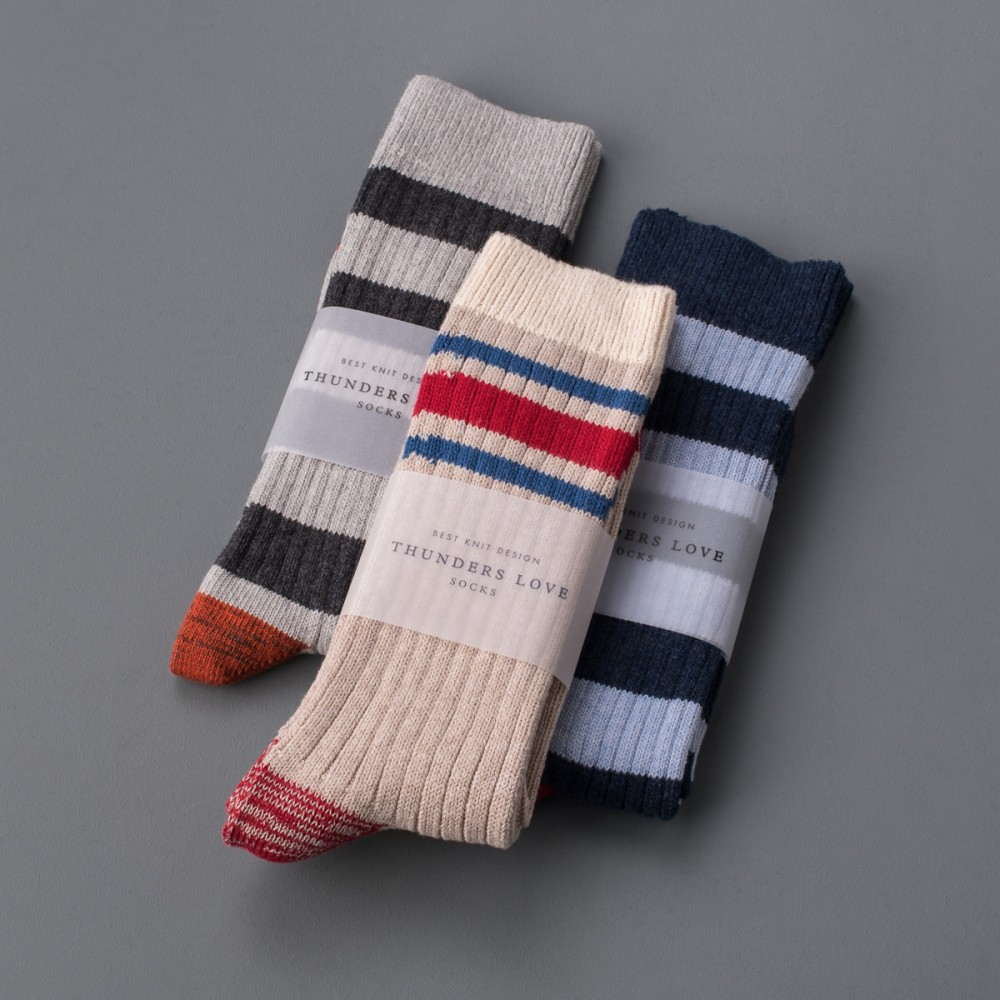 """Thunders Love Socks - Nautical Turn Style-21268.jpg"""