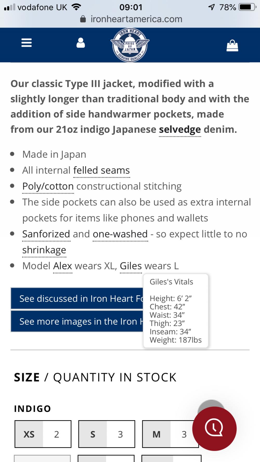 The Iron Heart Website Glossary