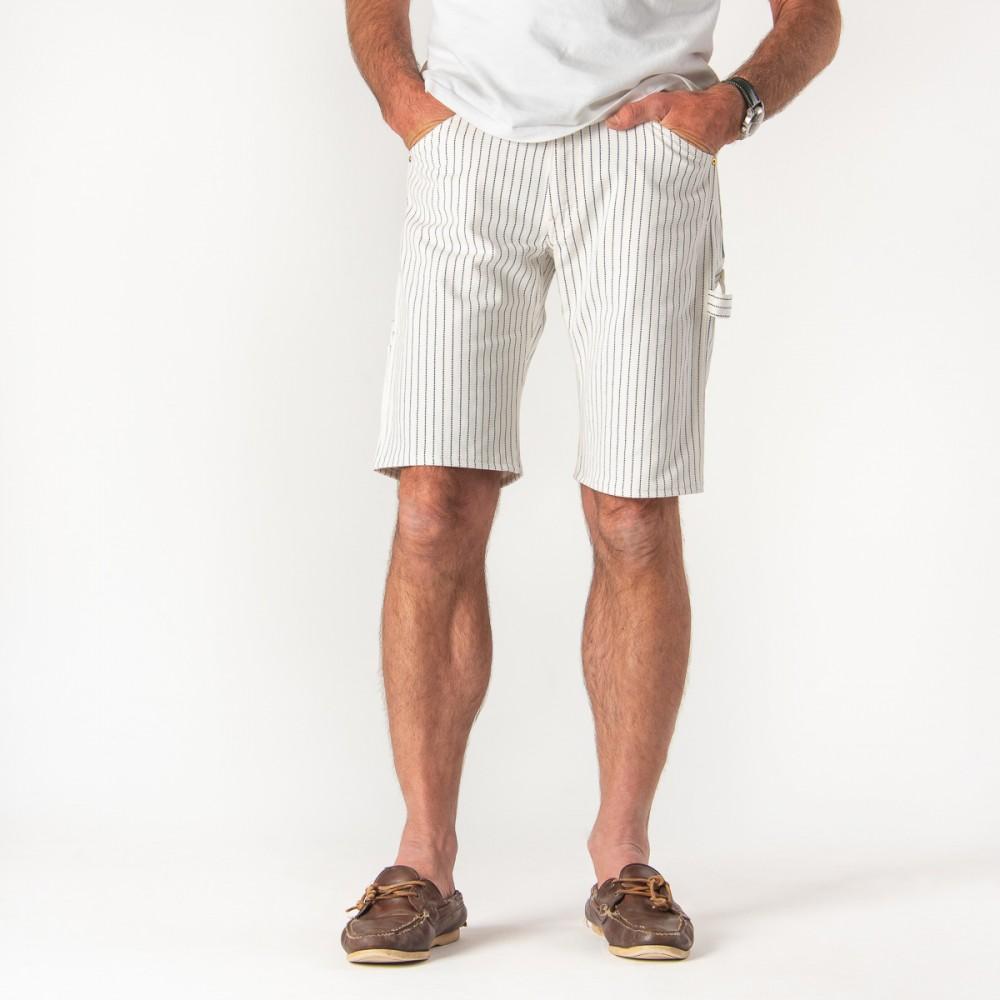 """Wabash Painter's Shorts in White-.jpg"""