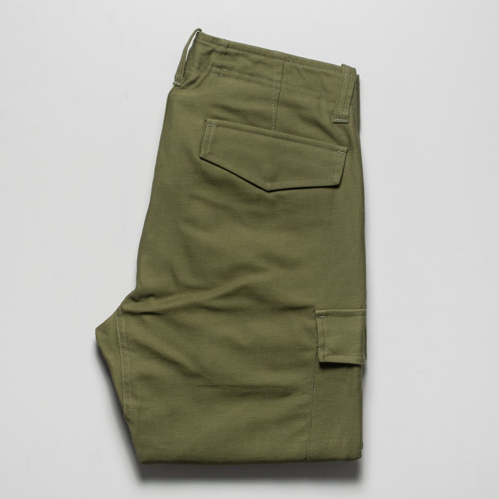 """Nine Lives Khaki Mil Back Satin Cargo Pants-25355.jpg"""