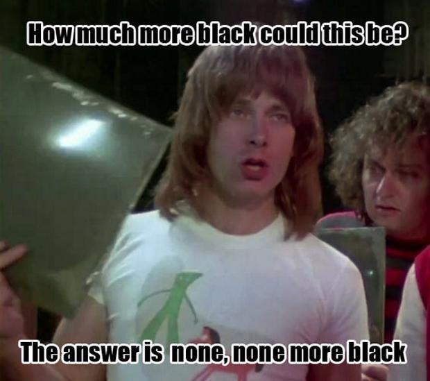 """""""None More Black"""""""