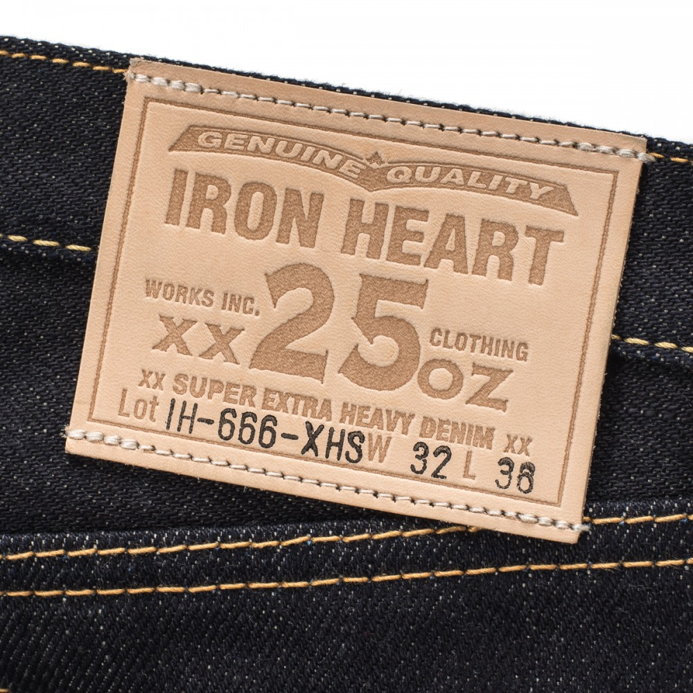 """IH-666-XHS - Indigo 25oz Selvedge Denim Slim Cut08.jpg"""