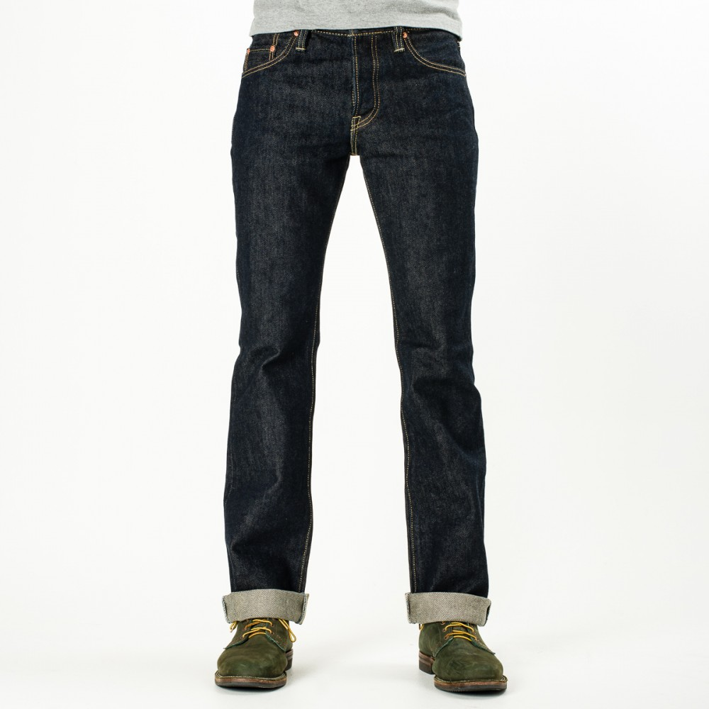 """IH-461S - Indigo 21oz Selvedge Denim Boot Cut13.jpg"""
