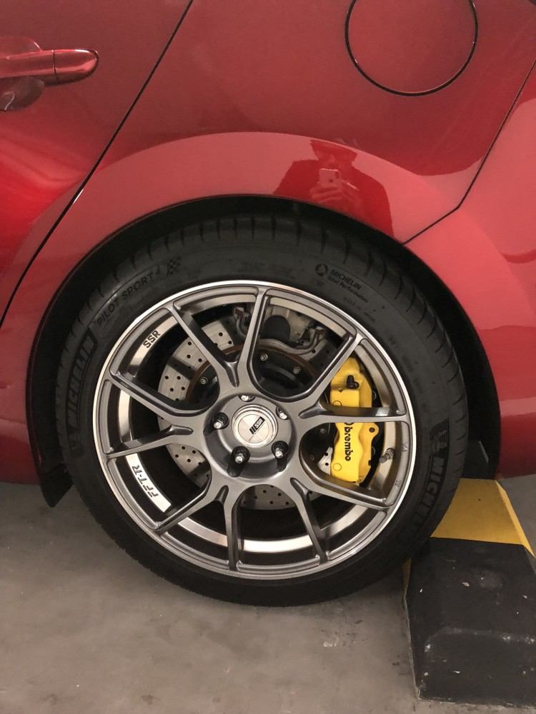 Front /& Rear Drilled Slotted Brake Rotors For 2014 2015 2016 Mazda 3 2.0L