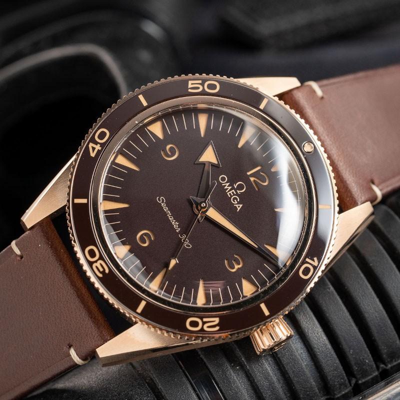 """Seamaster 300 Bronze Gold"""