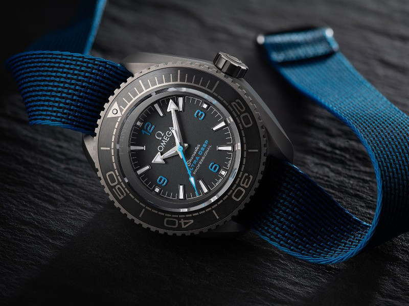 """Omega Seamaster Planet Ocean Ultra Deep Professional"""
