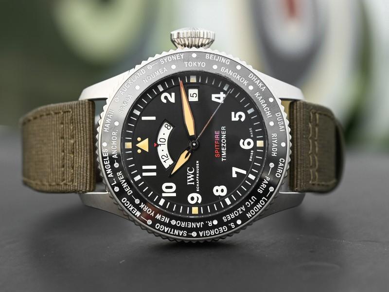 """IWC Timezoner Spitfire"""