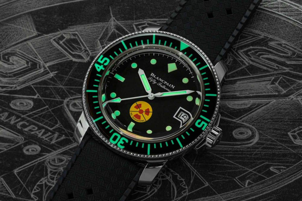 """Blancpain Fifty Fathoms No Radiation"""