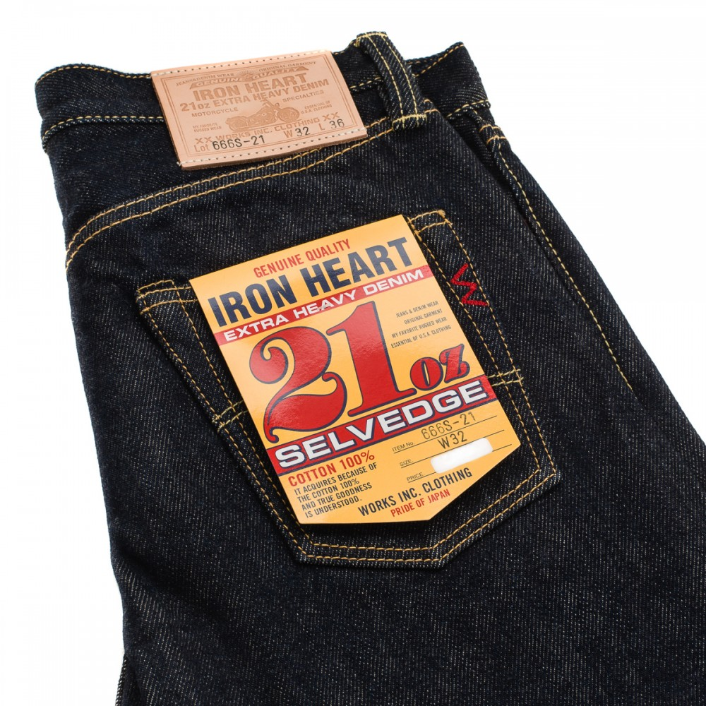 """IH-666S-21 - Indigo 21oz Selvedge Denim Slim Cut19.jpg"""