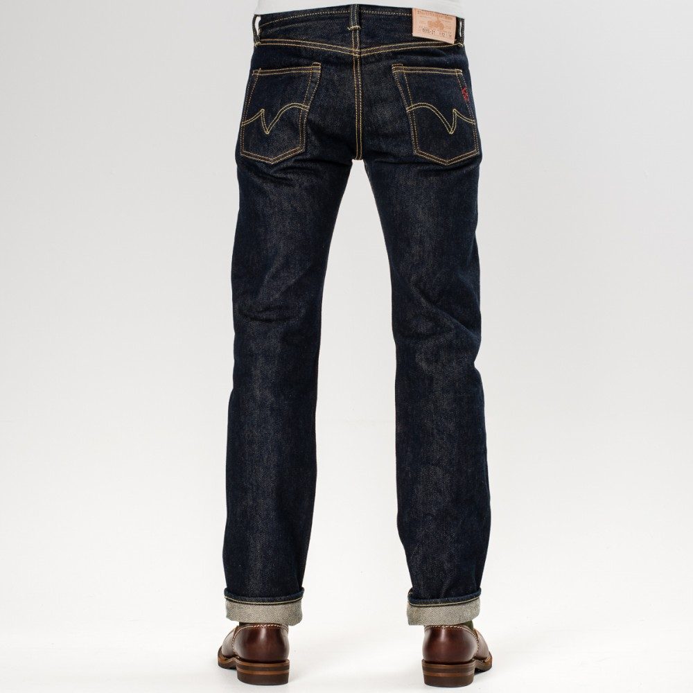 """IH-666S-21 - Indigo 21oz Selvedge Denim Slim Cut32.jpg"""