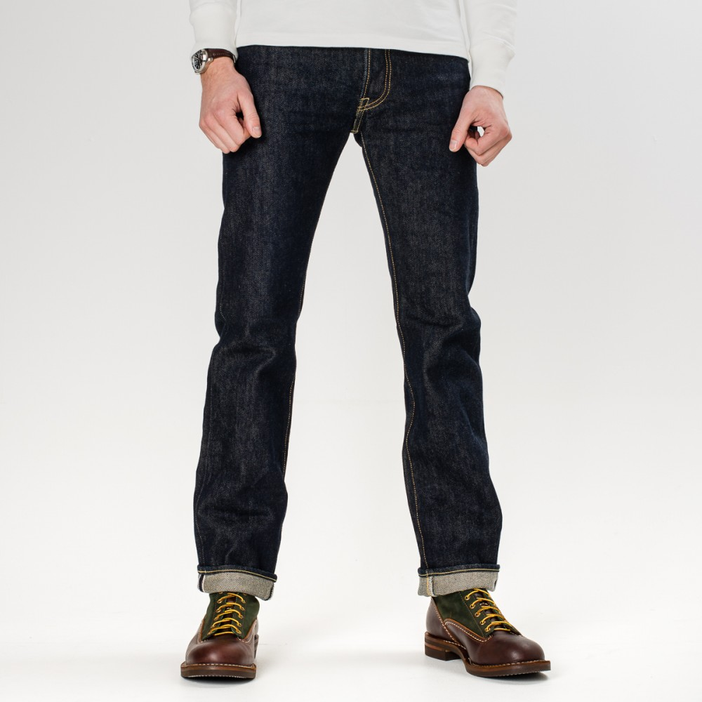 """IH-666S-21 - Indigo 21oz Selvedge Denim Slim Cut30.jpg"""