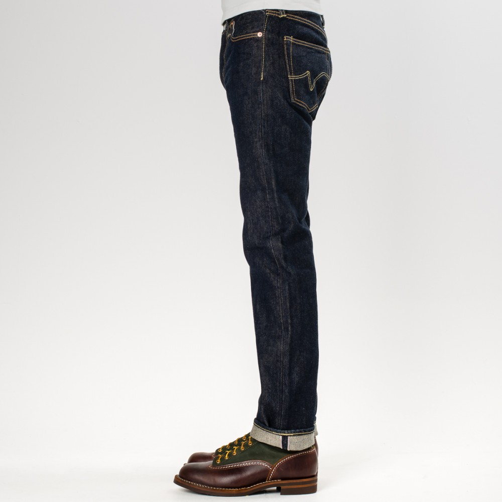 """IH-666S-21 - Indigo 21oz Selvedge Denim Slim Cut31.jpg"""