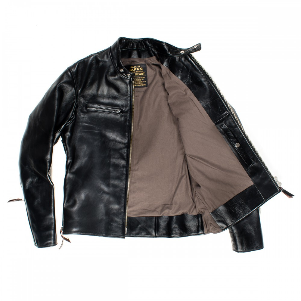 """IHJ-35 - Black Japanese Horsehide Rider's Jacket08 copy.jpg"""