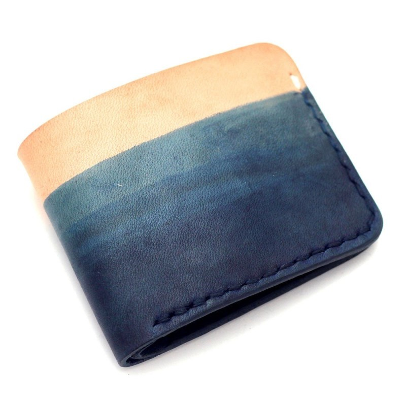 """Teranishi Studio Gradient Minimalist Wallet"""