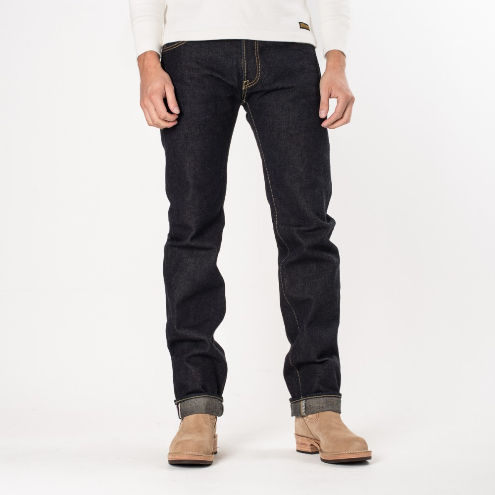 """IH-666S-19L-V2 - Indigo New 19oz Raw Selvedge Left Hand Twill Slim Cut03.jpg"""