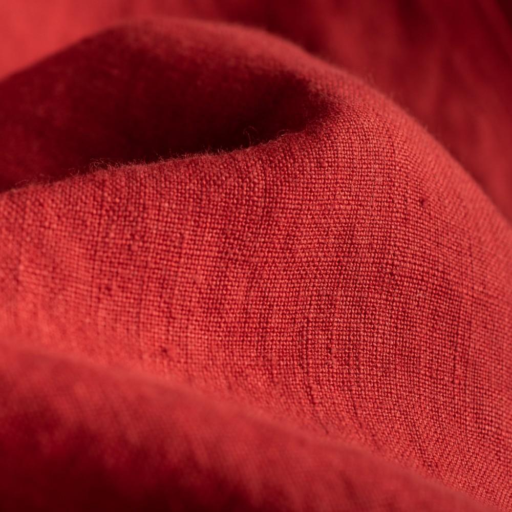 """""""Nine Lives Marshall Islander Belgian Linen Short Sleeve Red Shirt---10.jpg"""""""