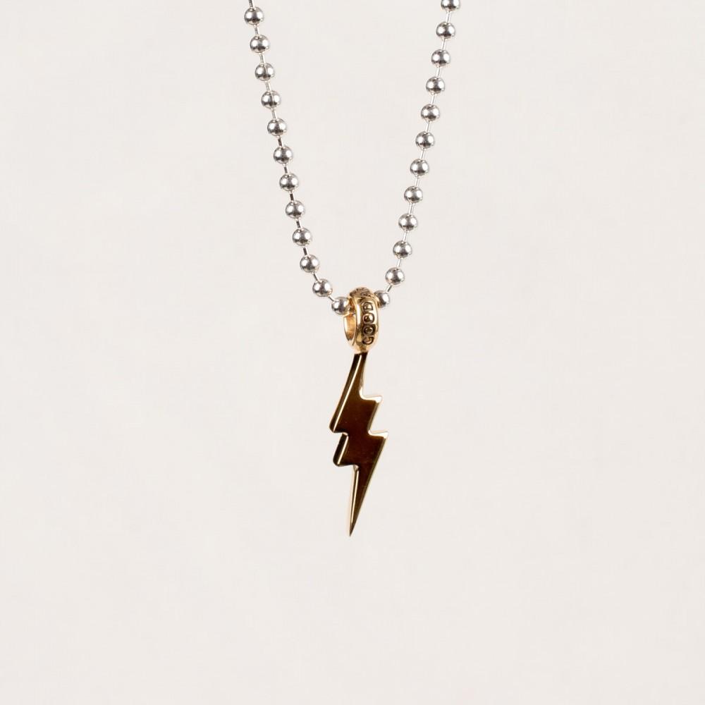 """""""Gold Shazam Pendent-2915.jpg"""""""