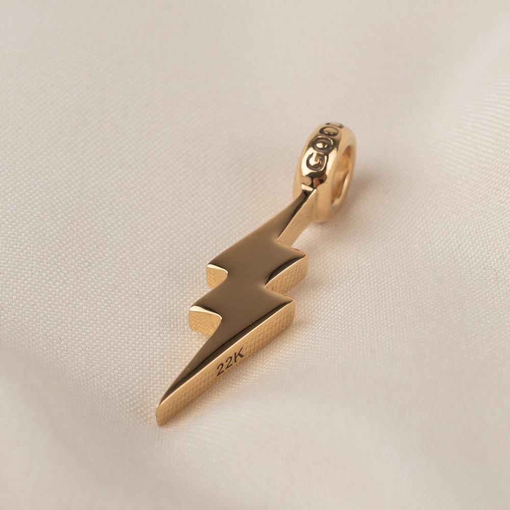 """Gold Shazam Pendant-2197.jpg"""