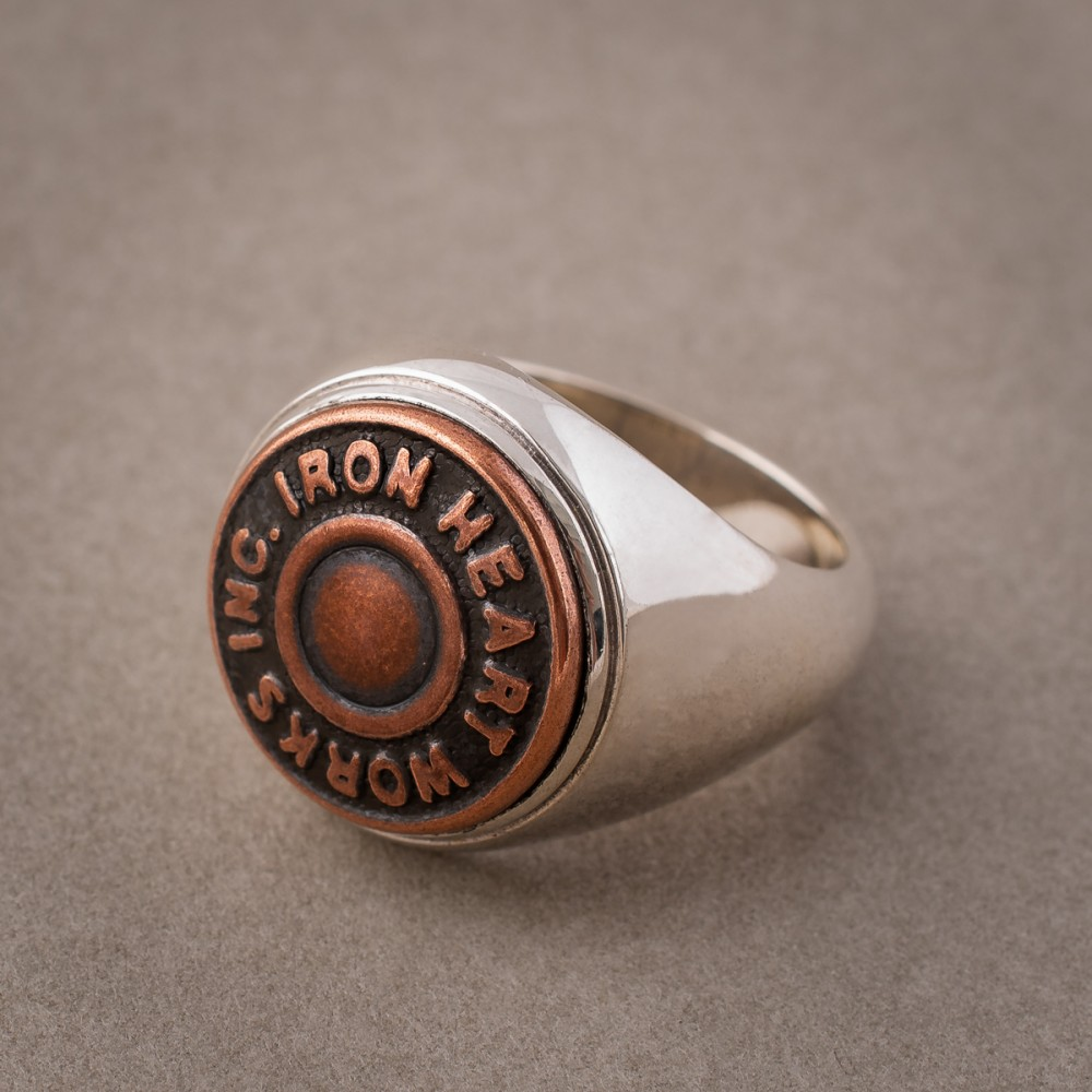 """""""Iron Heart Sterling Silver Button Ring--7.jpg"""""""