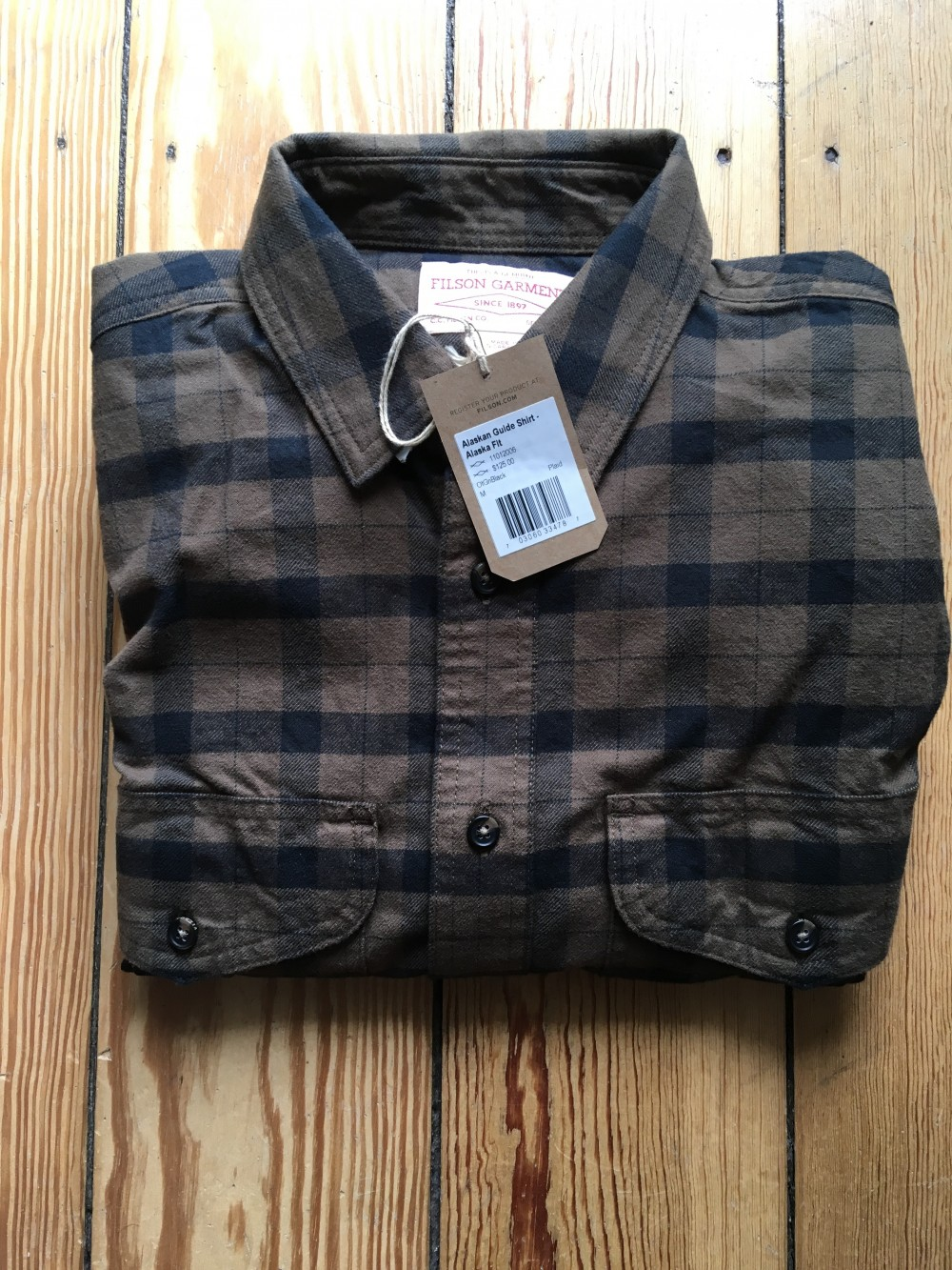 """""""Filson Alaskan Guide Shirt IMG_0620.JPG"""""""