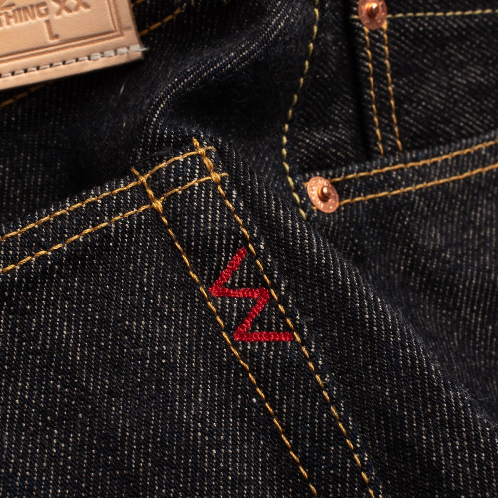 """IH-555-SST - 21oz Shinayaka Denim - Super Slim - Indigo-5971.jpg"""