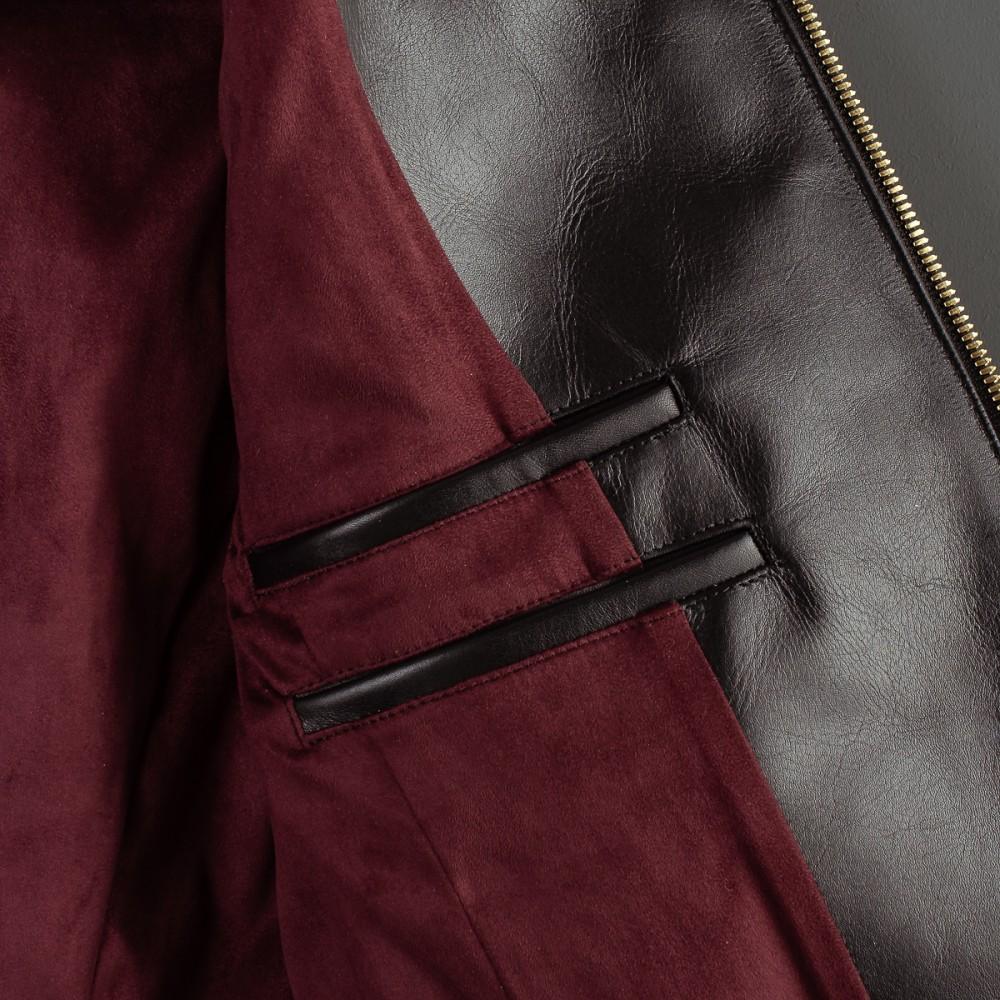 """Black Leather Rider's Jacket-4.jpg"""