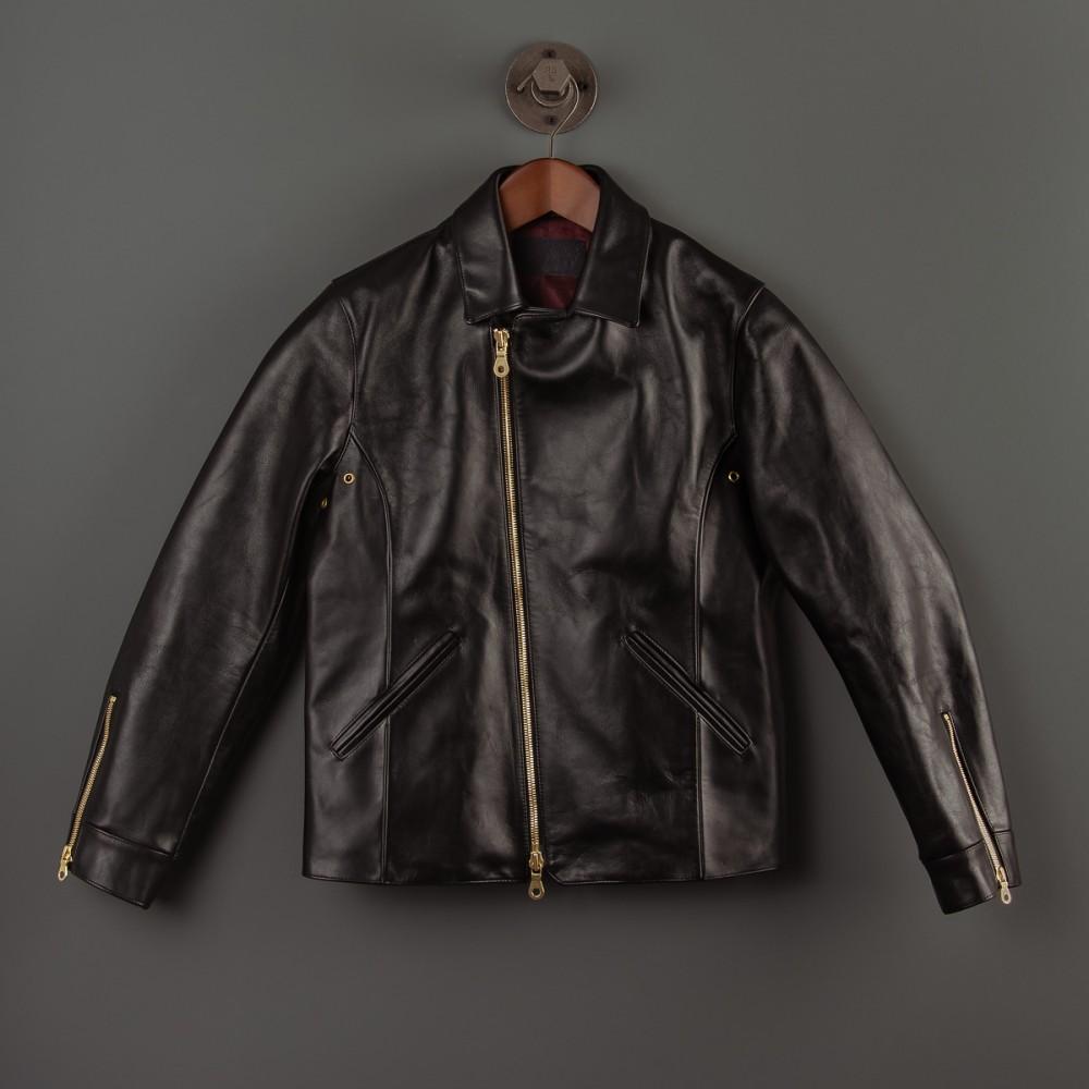 """Black Leather Rider's Jacket-2.jpg"""