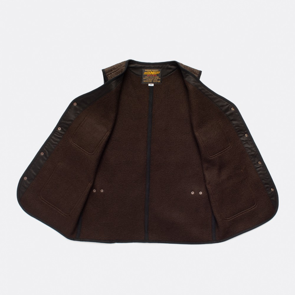 """IHV-40-BRN - Beach Cloth Vest - Brown--7.jpg"""