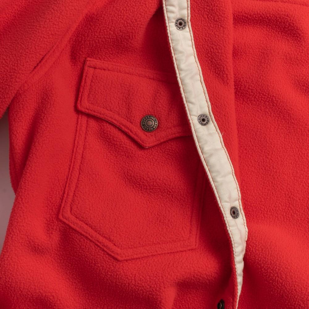 """IHSH-287-RED - Micro Fleece CPO Shirt - Red--12.jpg"""
