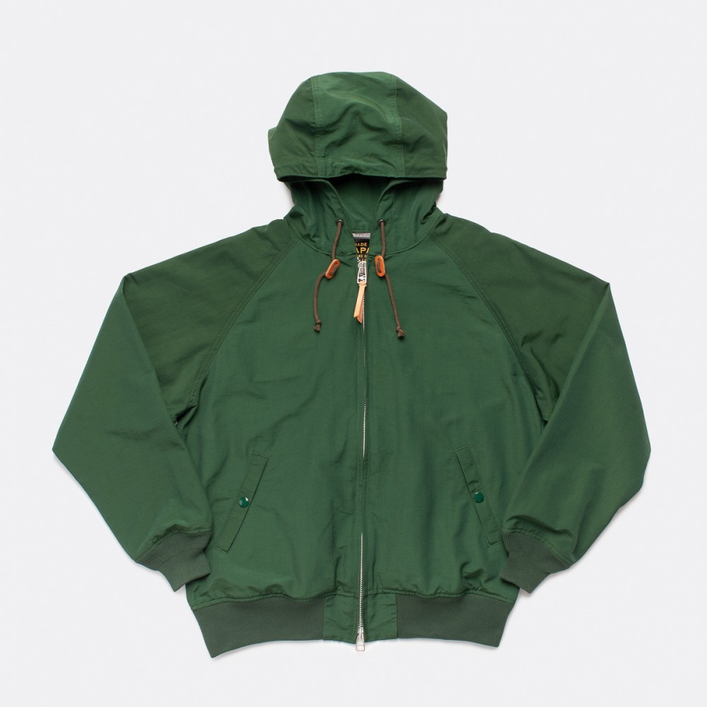 """IHJ-97-GRN - Waterproof-Breathable Cotton Mix Mountain Parka - Green--9.jpg"""