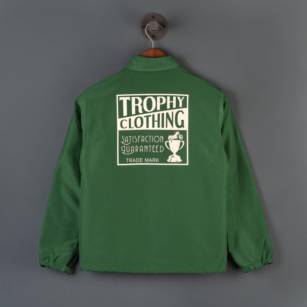 """Trophy Box Logo Warm Up Jacket - Olive--4.jpg"""