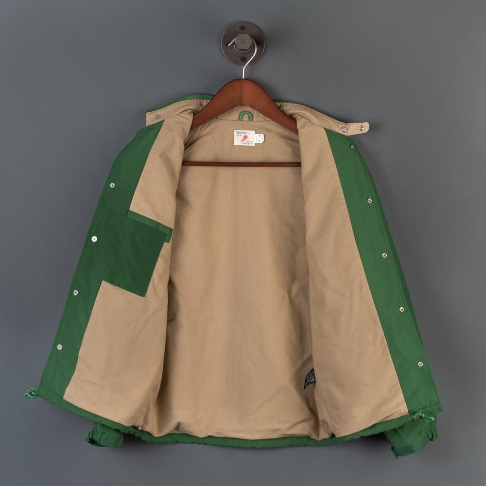 """Trophy Box Logo Warm Up Jacket - Olive--6.jpg"""