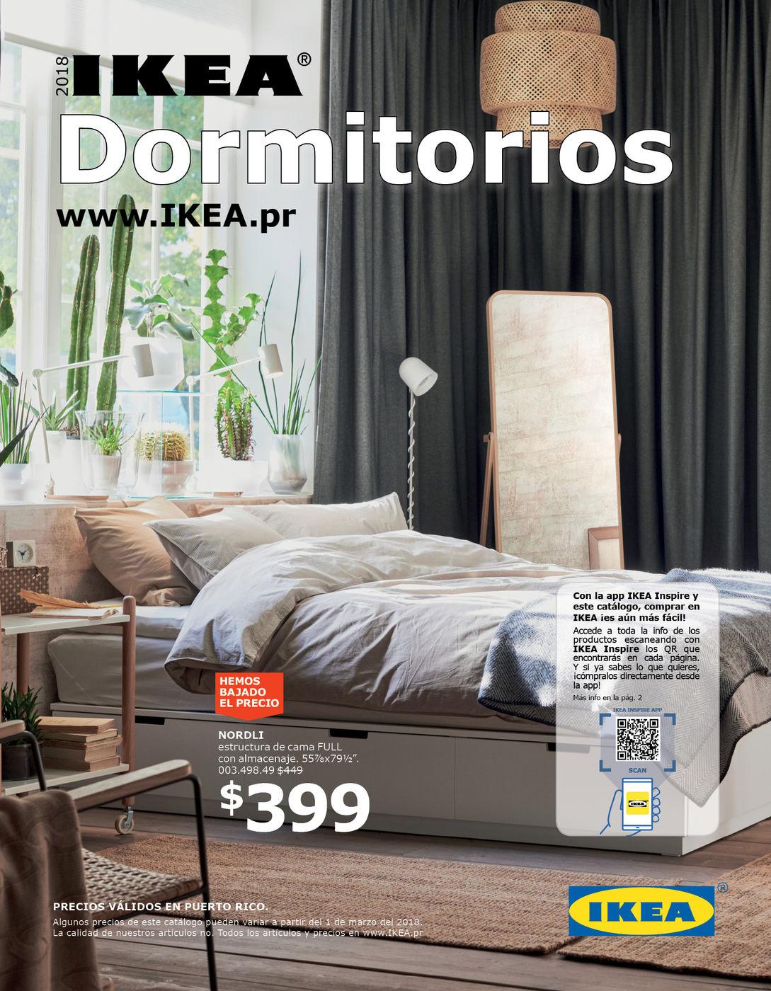 Catálogo Dormitorios 2018 Pr
