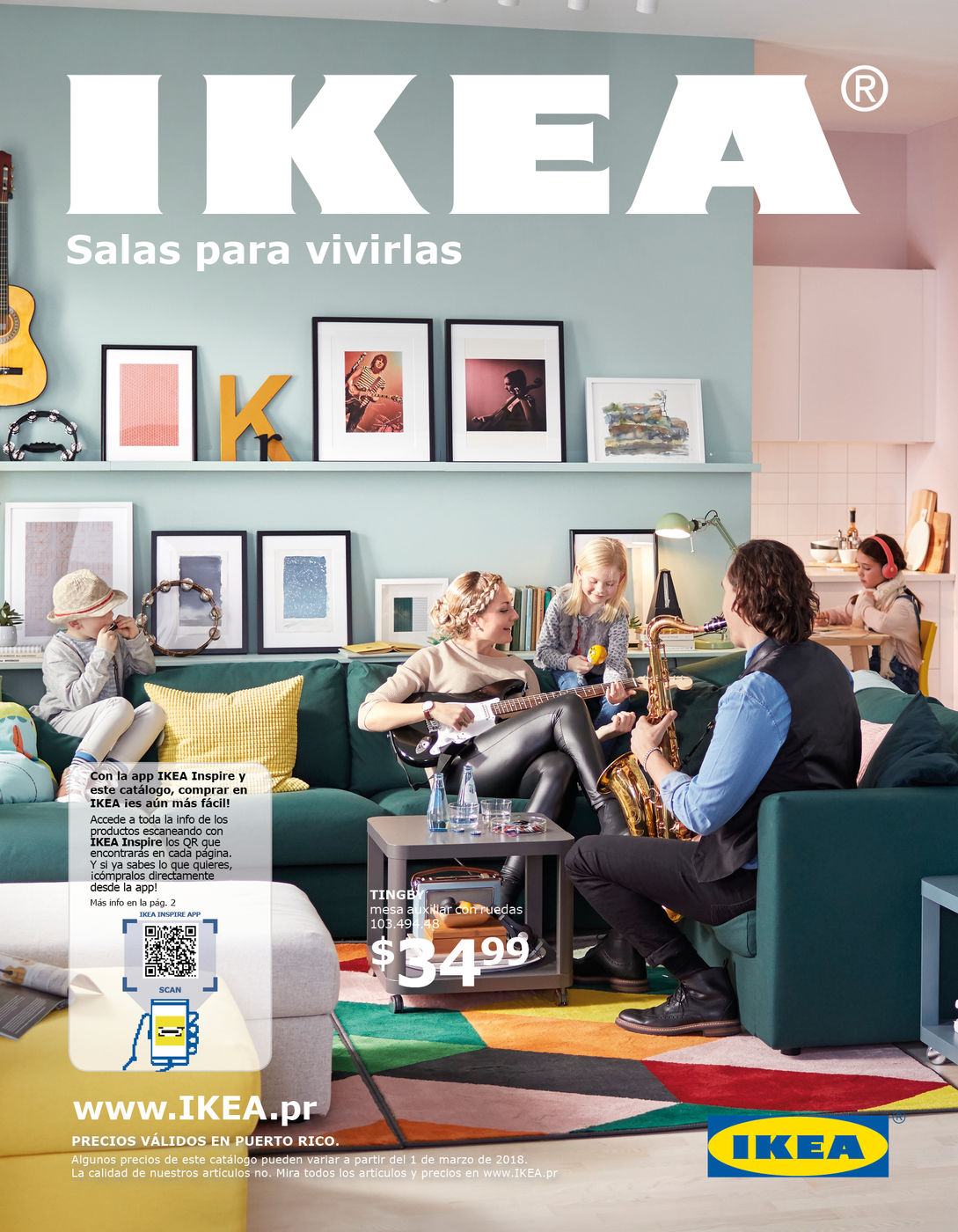 Catálogo Salones Para Vivirlos 56 Pag Puerto Rico Sept 2018
