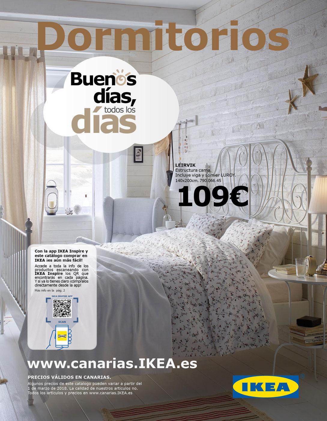 Catalogo Distribucion Oct Dormitorios 2018 Can - Ikea-dormitorios-catalogo