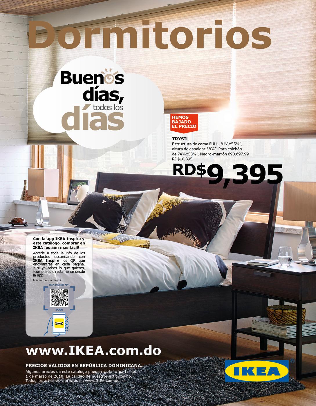 Catalogo Distribucion Oct Dormitorios 2018 Sdq - Catalogo-de-ikea-dormitorios