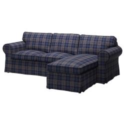 EKTORP Sofá de 2 plazas y chaiselongue