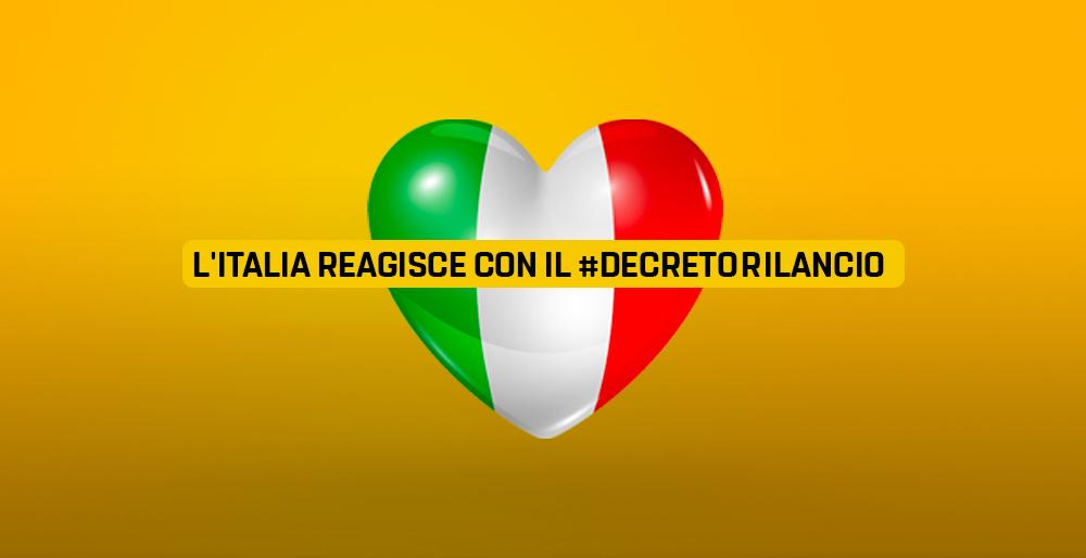 L'Italia reagisce con il decreto Rilancio - Il Blog delle Stelle
