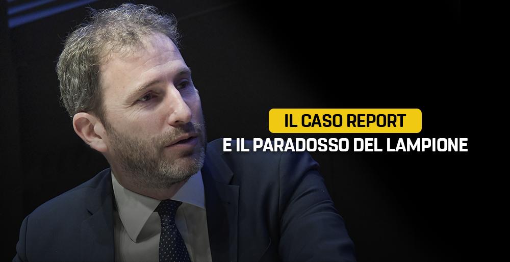 Il Caso Report E Il Paradosso Del Lampione Il Blog Delle Stelle